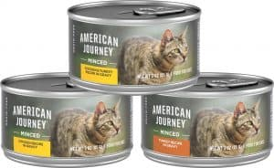 american journey wet cat food without fillers
